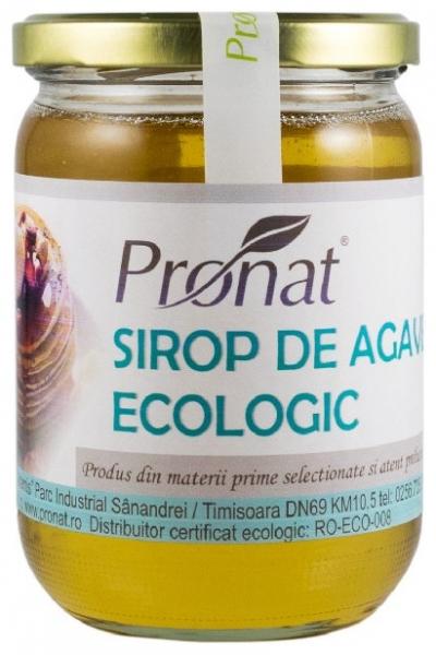 Sirop Bio de agave , 650g / 500ml