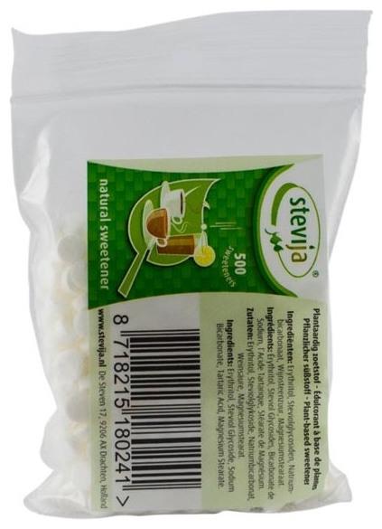 Stevia Indulcitor Natural 500 mini capsule