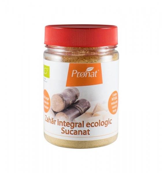 Zahar integral Bio, Sucanat, 200 g