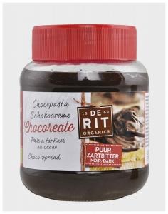 Crema BIO de Ciocolata Neagra 350 gr (Vegetariana)