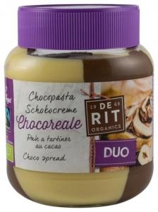 Crema de Ciocolata BIO DUO cu Alune 350 gr (Vegetariana)