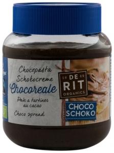 De Rit – Crema BIO de ciocolata cu cacao, 350g Vegan si Fairtrade