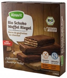 Napolitane BIO trase in ciocolata, 75 g