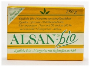ALSAN – Margarina BIO, 250 g