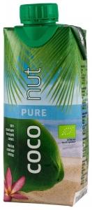 Apa de Cocos 100% BIO 330 ml Aqua Verde numai 19 calorii