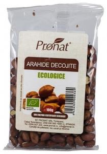 Arahide Bio decojite, 100 g