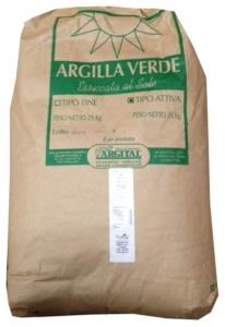 Argila Verde pentru Masti Cosmetice 25kg