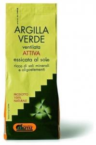 Argila verde activa ventilata pentru baut, 500 gr