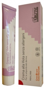 Crema de violete pentru fata, non alergica, 50 ml