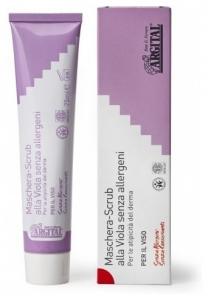 Crema exfolianta de violete non alergica, 75 ml