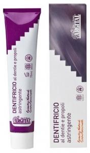 Pasta de dinti cu dentie (carbune de fag) si propolis, 75 ml