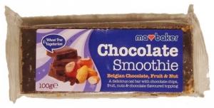 Baton de ovaz cu ciocolata - fructe si nuci 100g , Ma Baker