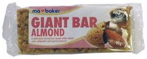 Baton din ovaz cu migdale si caise 90 g Ma Baker