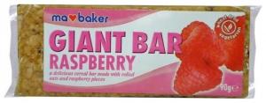 Baton din ovaz cu zmeura 90 gr Ma Baker