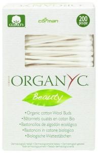 Betisoare Organyc cu bumbac organic-200 buc