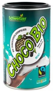 Bio Pudra de cacao cu menta pentru ciocolata calda  250 g