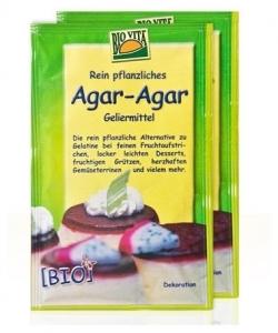 Agar agar Bio Gelifiant pentru dulceturi si creme dietetice 20gr