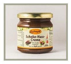 Crema de Ciocolata cu alune indulcita doar cu xylitol din mesteacan 170 gr
