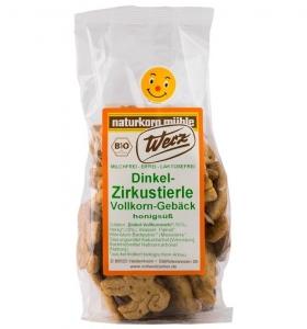 Biscuiti Bio Zoo din alac cu miere, 125 g