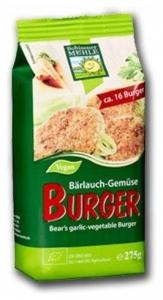 Mix Bio pentru burgeri cu cereale, leurda si legume, 275g