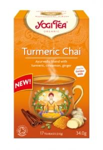 Ceai Bio cu TURMERIC Yogi Tea, 34 g