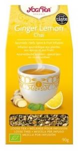 Ceai Bio Ghimbir si lamaie Yogi Tea, 90g