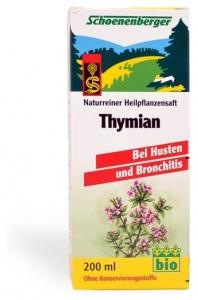 Cimbrisor bio Schoenenberger 200 ml