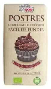 Ciocolata neagra fondant, BIO  minim 58% cacao, 200 g