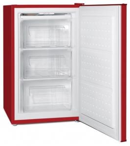 Congelator Oursson FZ0805/RD, 80 L, H 83 cm, Clasa A+, Rosu