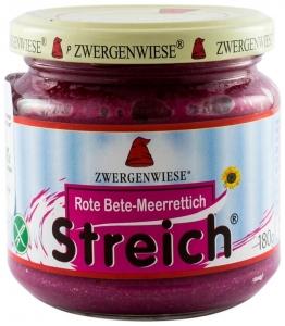 Crema tartinabila BIO vegetala cu sfecla rosie si hrean – 180 g