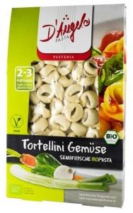 Tortellini bio cu legume, 250g