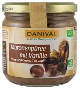 Danival – crema bio de castane cu vanilie, 380g