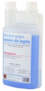 Detergent Oursson 40232, de spalare a sistemului de spumare a laptelui, 1000ml