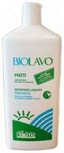 Detergent  super- concentrat de vase cu lamaie BIOLAVO 1L