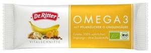 Baton BIO Omega 3 cu seminte de In, Caise, Miere, Alune 40 gr