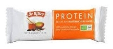 Baton BIO PROTEIC cu proteine din lapte + Miere, curmale, alune 40 gr