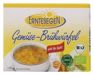Cuburi Bio pentru supa, cu legume, 66g (6x11g)