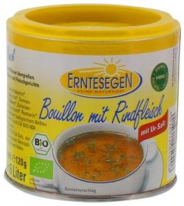 Supa Bio cu carne de vita, 120g