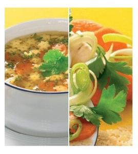 Supa de Legume BIO cu PASTE numai 17 calorii!