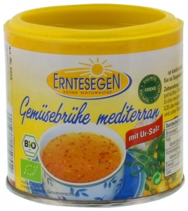 Supa Bio de legume mediteraneana, 125g