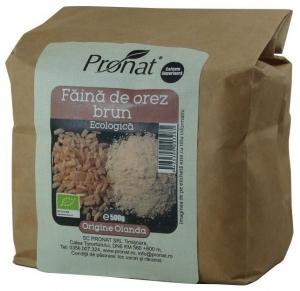 Faina de orez brun Bio- 500g