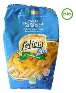 FELICIA BIO  - Penne organice din malai si orez, 500 g