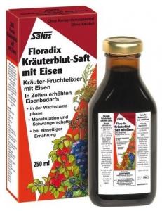 Floradix Elixir bio cu fier 250ml SALUS HAUS