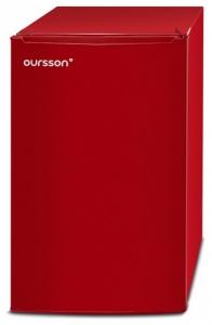 Frigider Oursson RF1005/RD, Clasa A+, H 83cm, 103 L, Camera Zero - 0°C, Rosu
