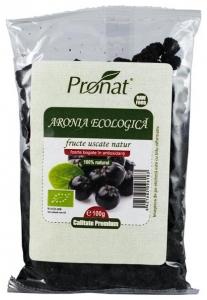 Fructe Bio de aronia uscate, 100 gr