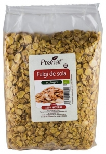 Fulgi Bio de soia, 500 g