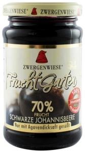 Gem BIO de coacaze negre indulcit cu sirop de agave, 225 g