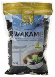 GOLDEN TURTLE - Wakame - alge uscate, 100 g