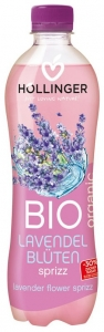 HOLLINGER – Bautura racoritoare BIO cu extract de flori de lavanda, 0.5L
