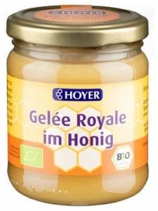 Hoyer - Miere Bio cu laptisor de matca, 250g